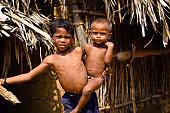 poor life in villages  shot in warangal Telangana state INDIA