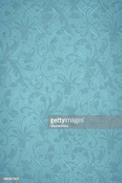 Powder Blue Victorian Background
