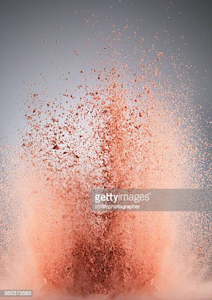 Powder Dust Bursting