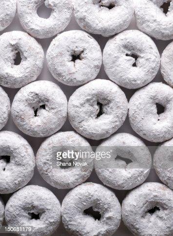 Powdered Sugar Doughnuts