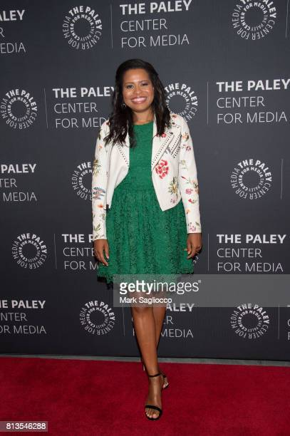'Power' creator Courtney A Kemp attends An Evening With The Cast And Creative Team Of 'Power' at The Paley Center for Media on July 12 2017 in New...