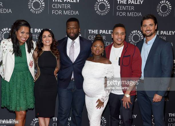 'Power' creator Courtney A KempLela LorenCurtis '50 Cent' JacksonNaturi NaughtonRotimi Akinosho and JR Ramirez attend the PaleyLive NY Presents An...