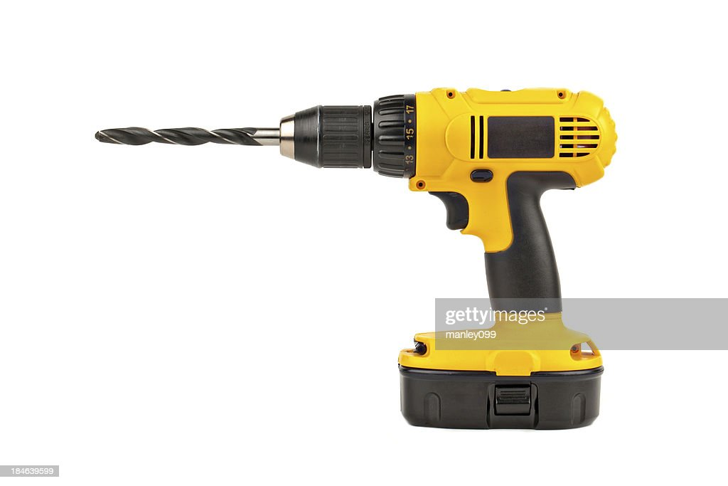 power drill with large bit