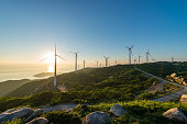 Power farms on the mountain