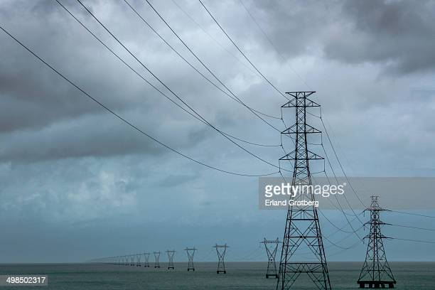 Power grid in the water