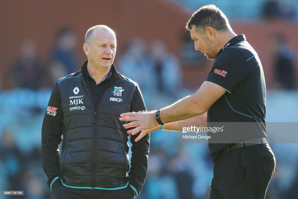 AFL Rd 13 - Port Adelaide v Brisbane