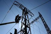 Power line construction