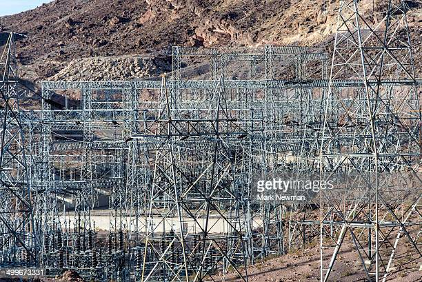 Power Lines at Hoover Dam
