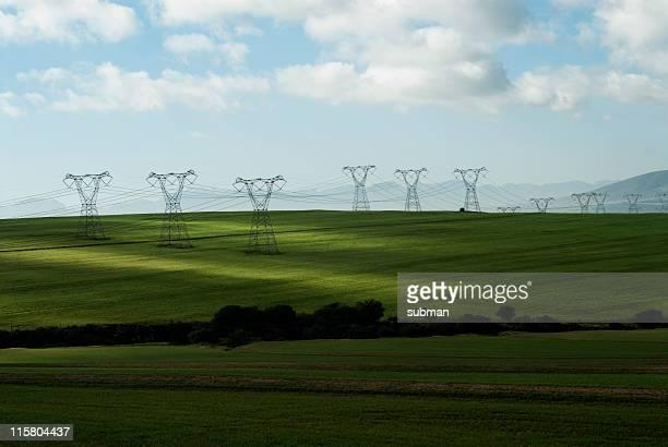 電源ラインにグリーンフィールド