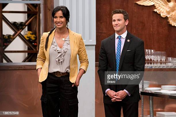 TOP CHEF 'Power Lunch' Episode 707 Pictured Padma Lakshmi Congressman Aaron Schock