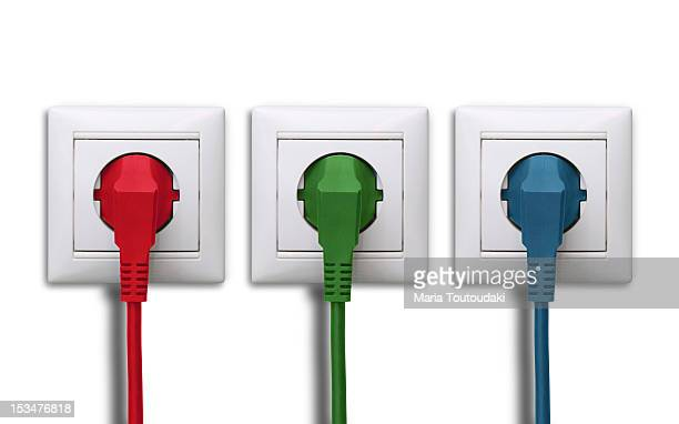 Power outlets and plugs