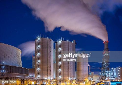 Power plant - energy industrie