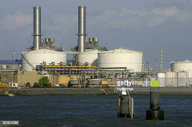 Power Plant in port