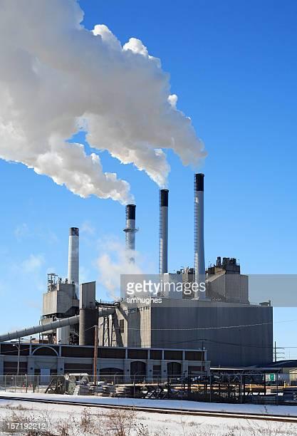 Power plant en hiver