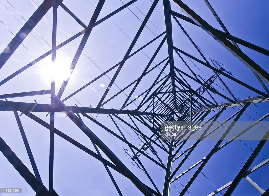 Power pylon : Stock Photo