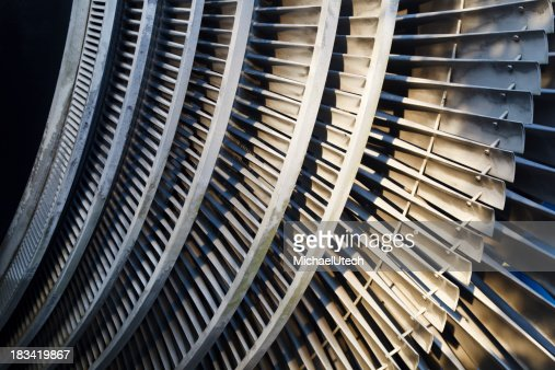 Power Station Turbine Detail