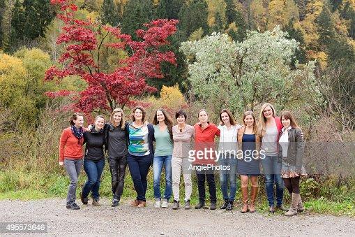 Power team of women