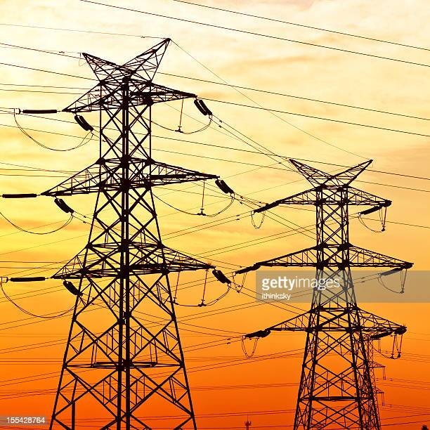 Power tower structure