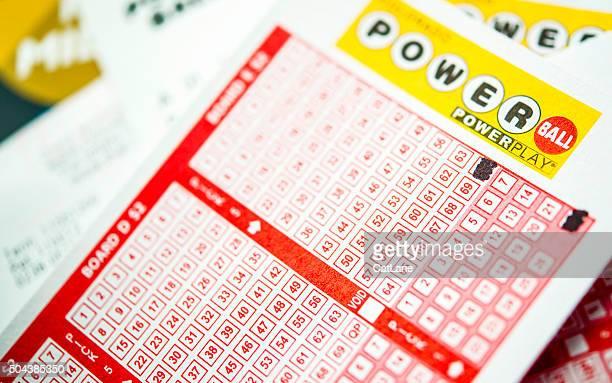 Powerball tickets für das Gewinnspiel