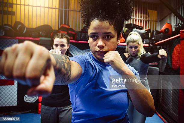 Powerful Female Fighters