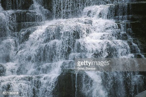 Powerful waterfall : Stock-Foto