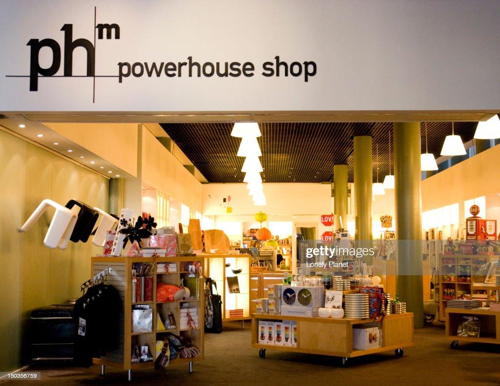 Powerhouse Shop. : Stock Photo