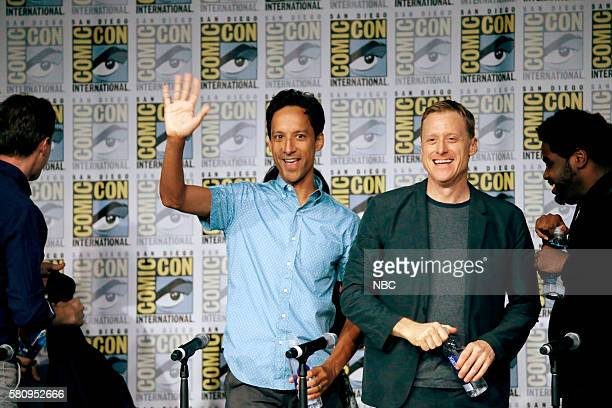 DIEGO 2016 'Powerless Press Room and Carpet' Pictured Danny Pudi Alan Tudyk