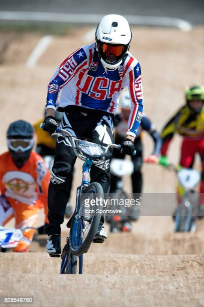 Powerlite's Ryan Marts finished second in the 15 Expert class at the USA BMX Mile High Nationals on August 6 at Grand Valley BMX in Grand Junction CO...