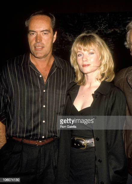 Powers Boothe and Rebecca De Mornay during Premiere of 'By Dawn's Early Light' at Directors Guild in West Hollywood California United States