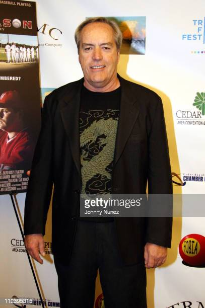 Powers Boothe during 6th Annual Tribeca Film Festival 'The Final Season' Arrivals at Pace University in New York City New York United States