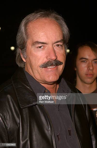 Powers Boothe during 'I Walk the Line A Night for Johnny Cash' Day 2 at Pantages in Los Angeles California United States