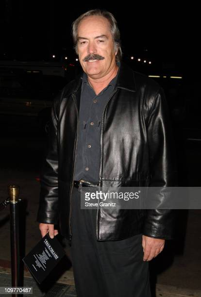 Powers Boothe during 'I Walk the Line A Night for Johnny Cash' Day 2 Arrivals at Pantages Theatre in Hollywood California United States