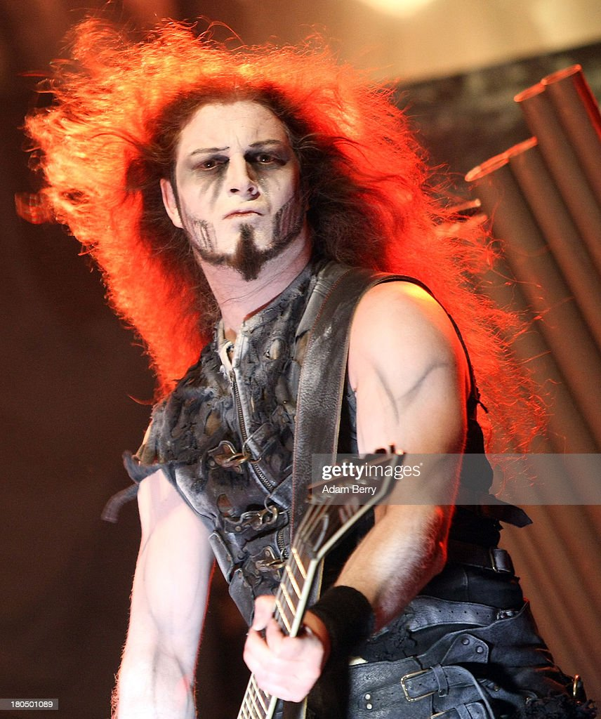 Powerwolf performs during the fifth Metal Hammer Awards at Kesselhaus on September 13, 2013 in Berlin, Germany. The annual prizes are given by Metal Hammer, a German music magazine specialized in Heavy Metal and Hard Rock.