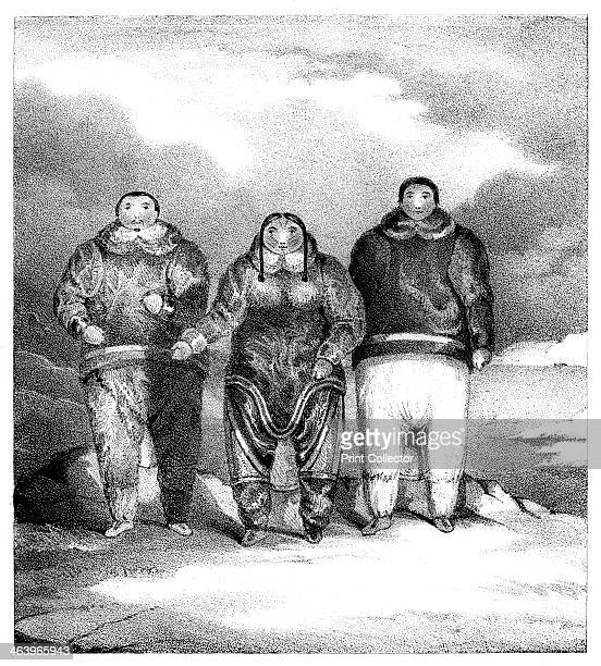 'Poyettak Kakikagiu Aknalua' early 19th century Indigenous people of the Arctic Circle possibly from North America or Siberia