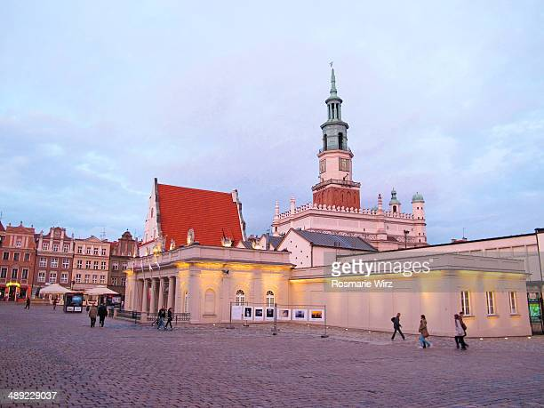 Poznan Old Market Square