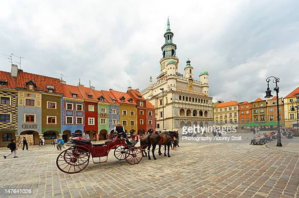 Poznan town centre