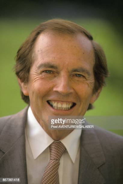 Pr Christian Barnard research advisor at the Clinique La Prairie in August 21 1988 in Montreux Switzerland