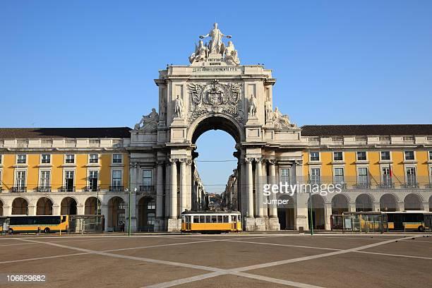 Pra?a do Com?rcio, Lisbon, Portugal