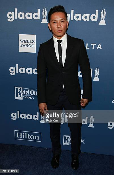 Prabal Gurung arrives for the 27th Annual GLAAD Media Awards at The Waldorf=Astoria on May 14 2016 in New York City