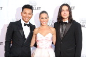 Prabul Gurung Sarah Jessica Parker and Olivier Theyskens attend New York City Ballet 2013 Fall Gala at David H Koch Theater Lincoln Center on...