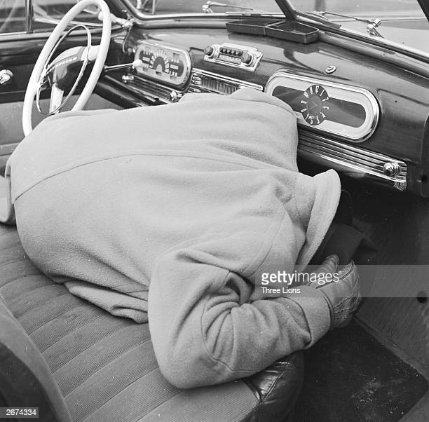 Practical advice on how to survive a sneak nuclear attack if you are in a car Duck as low under the dashboard as possible close your eyes very...