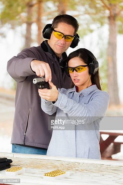 Üben das Shooting Range