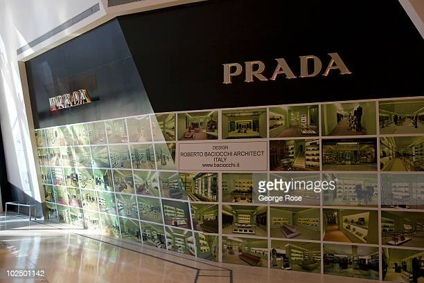 Prada storefront is seen at the Crystals Shopping Center located in the new CityCenter complex on May 29 2010 in Las Vegas Nevada The CityCenter...