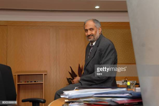 Pradeep Kumar Dy MD and CIO of State Bank Of India poses during an interview with Mint