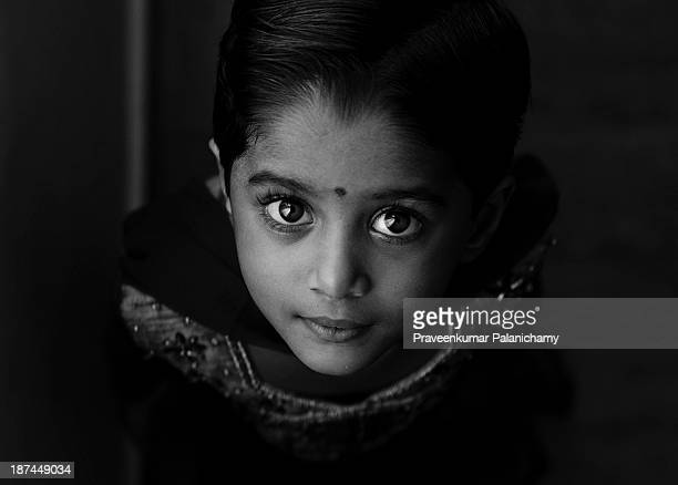 Pradeepa black and white