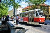 Praga, muoversi in tram