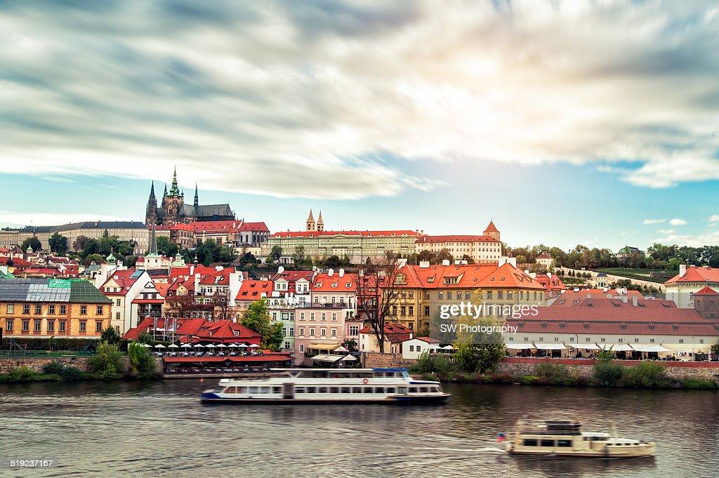 Prague Castle and Valtava River