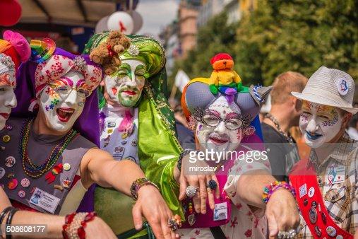 Prague Pride Parade : Stock Photo