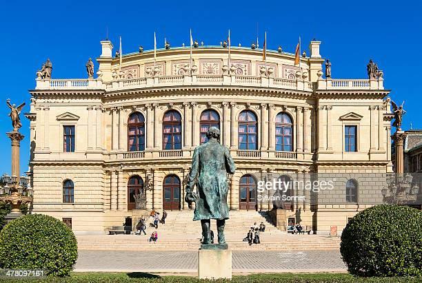 Prague, Rudolfinum concert hall