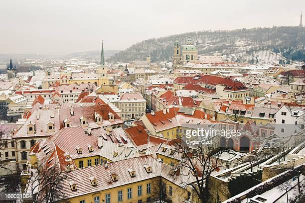 Prague with Snow